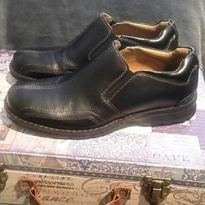 Mens Leather Dockers Prostyle Shoes